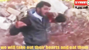 Syrian Heart-Eating Rebel