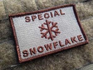 Millennial Snowflake Patch 1